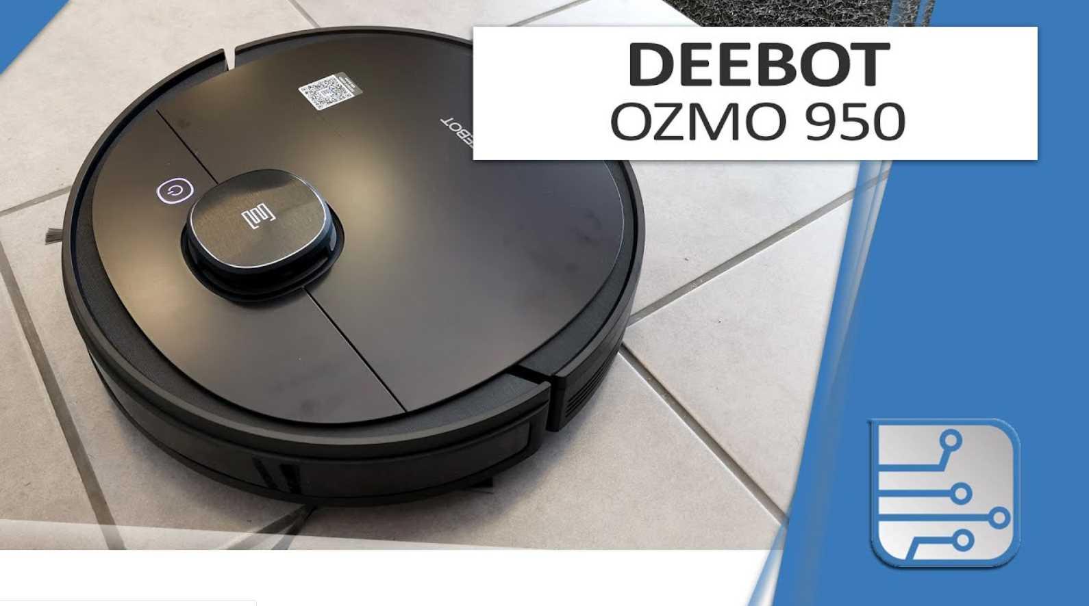 Deebot 950, opinión y características
