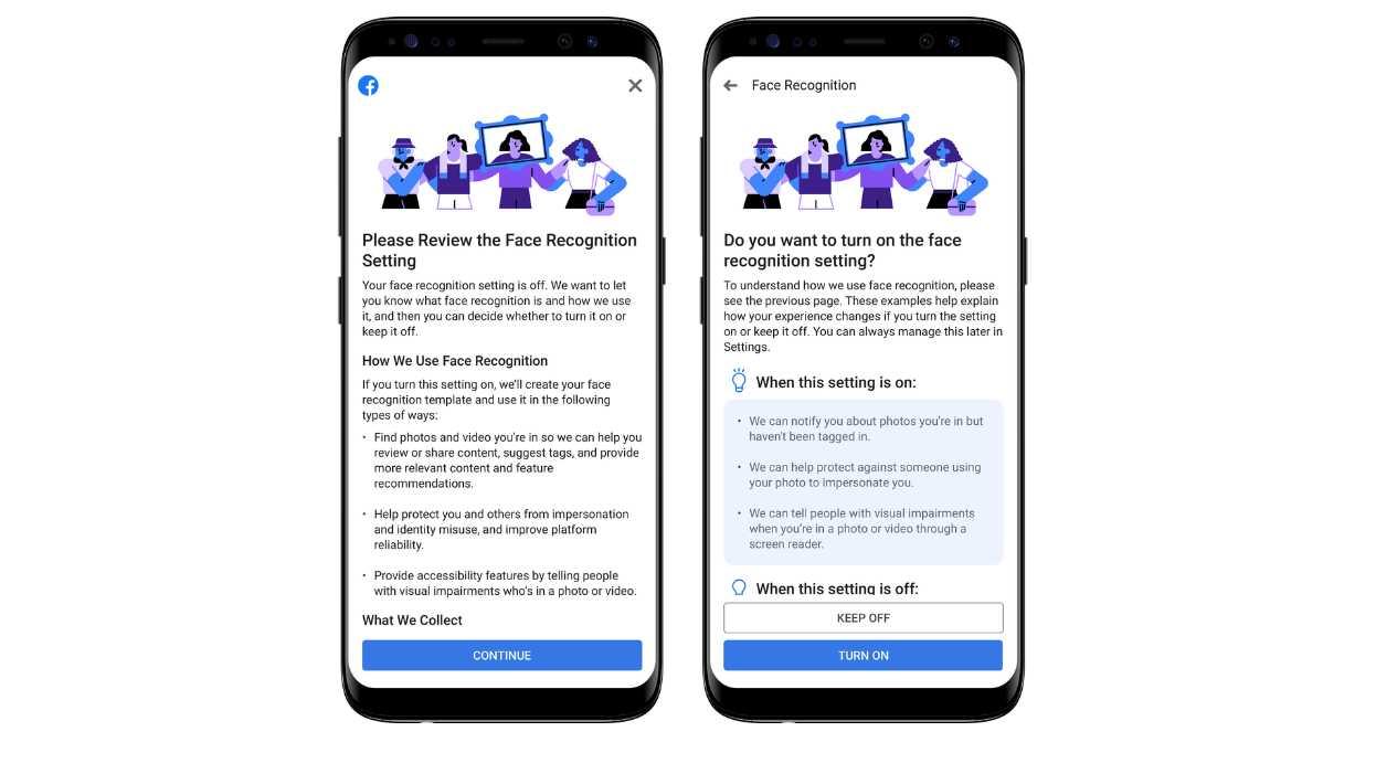 Facebook cambia su política sobre el reconocimiento de rostros