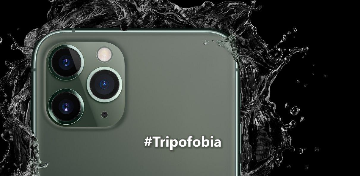 El diseño del nuevo iPhone afecta a personas con tripofobia