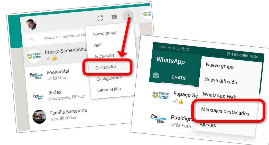 destacados Whatsapp