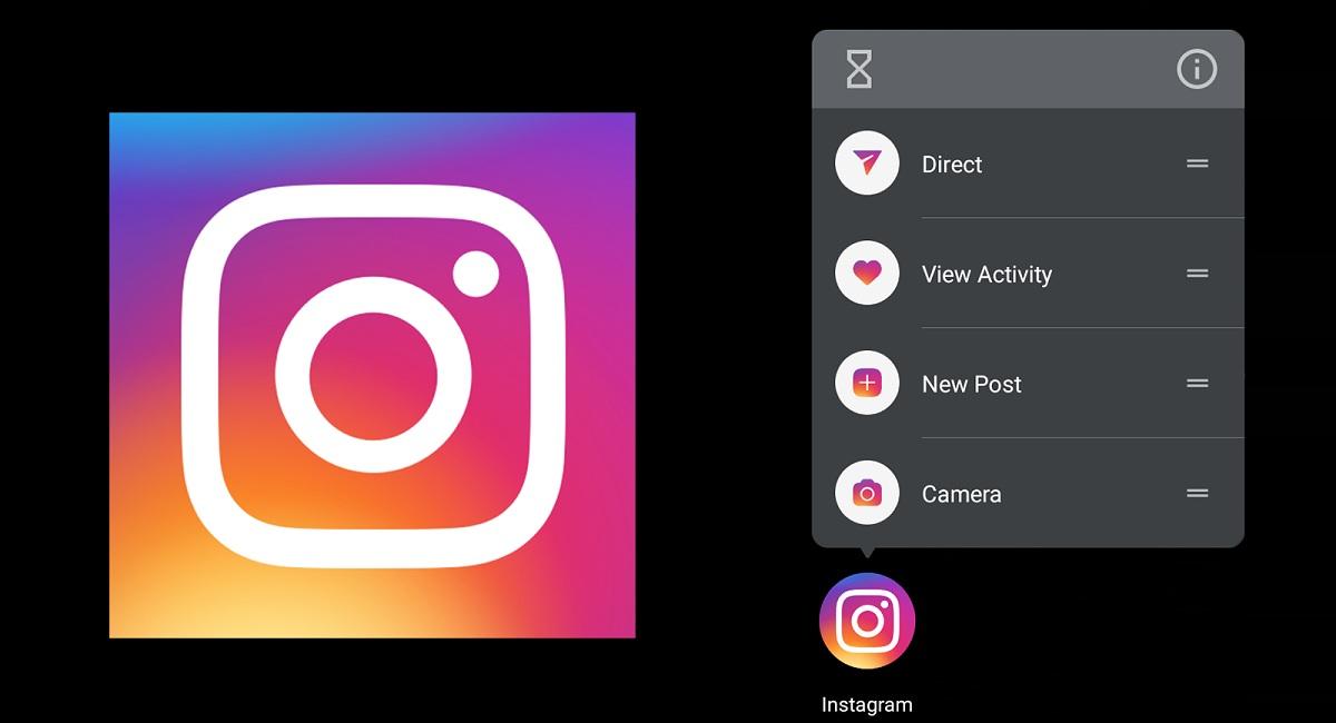 El nuevo cambio de Instagram: accesos directos.