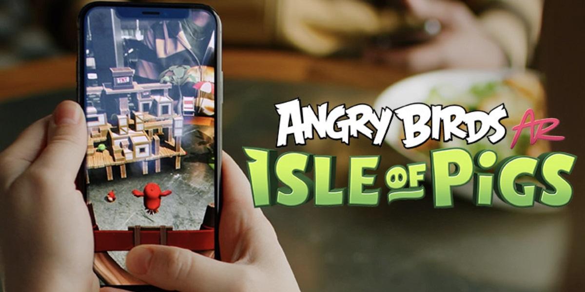Angry Birds AR: Isle of Pigs, el juego de Rovio con realidad aumentada incluida, ya disponible para Android