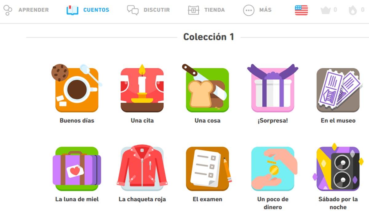 Duolingo suma una función de cuentos interactivos para aprender inglés