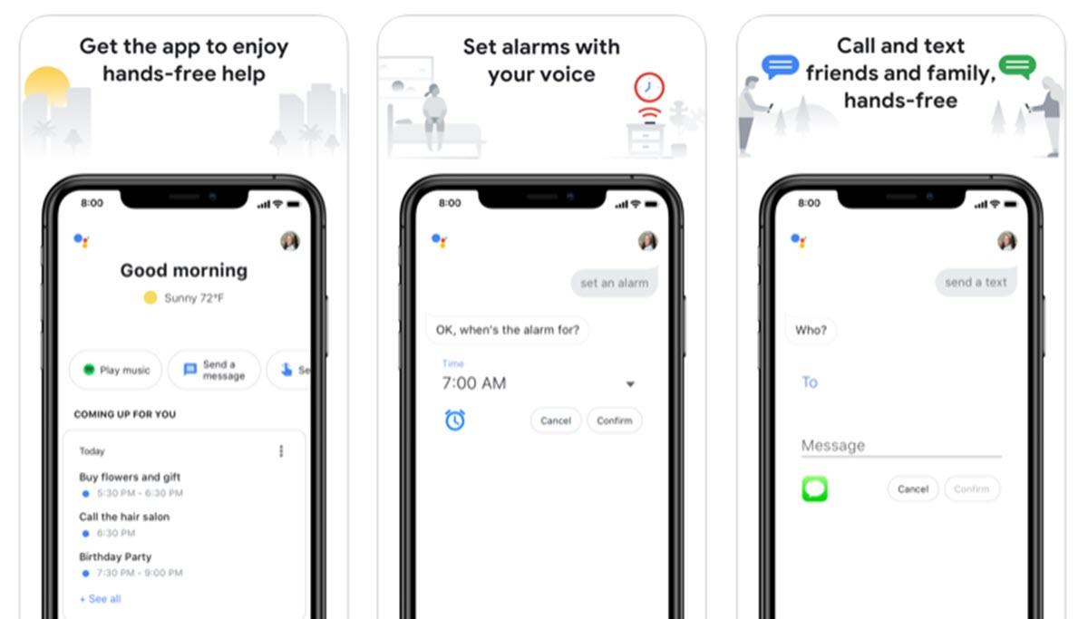 Google Assistant mejorará la interfaz y la forma de presentar los datos del día