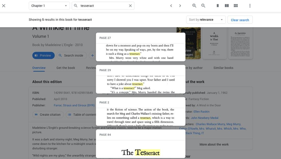Google Books estrena diseño y nuevas opciones