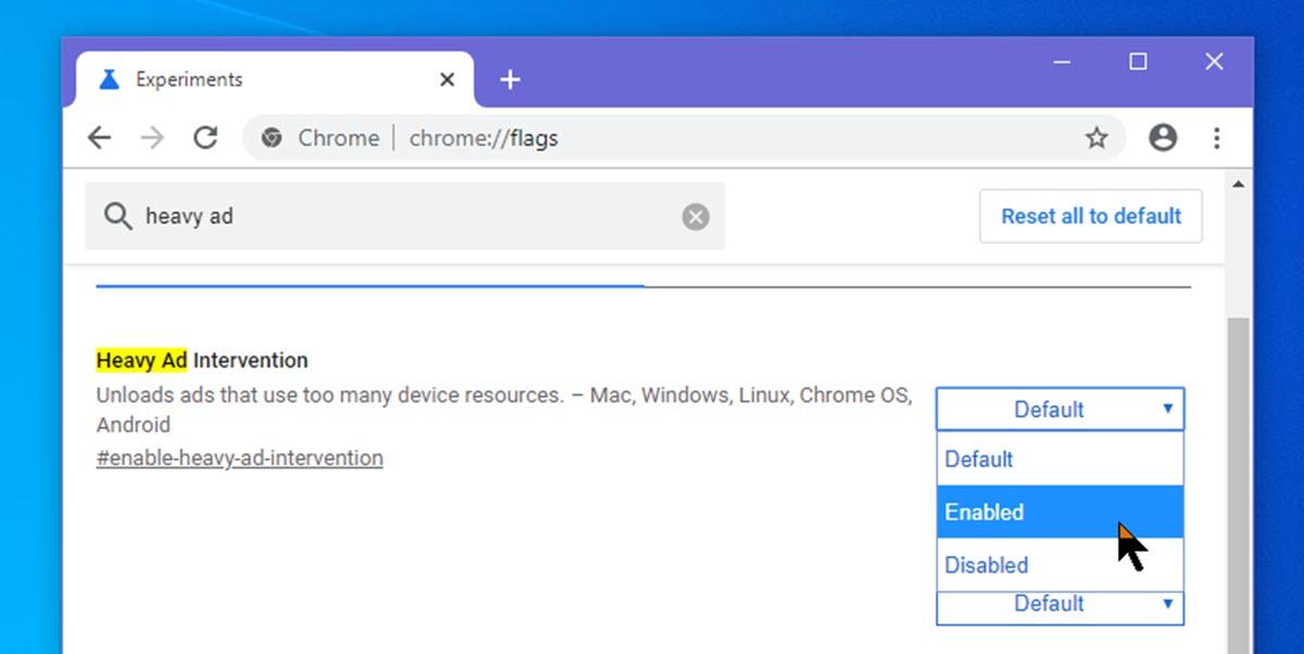 Google Chrome ya permite probar la función para bloquear anuncios pesados