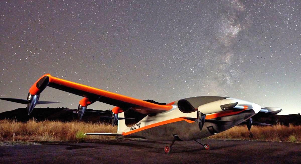 Heaviside: Maravilla de la navegación aérea eléctrica y sin ruido
