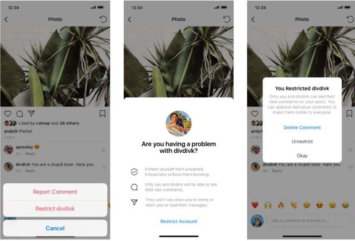 Instagram implementa una función que permite silenciar a los acosadores