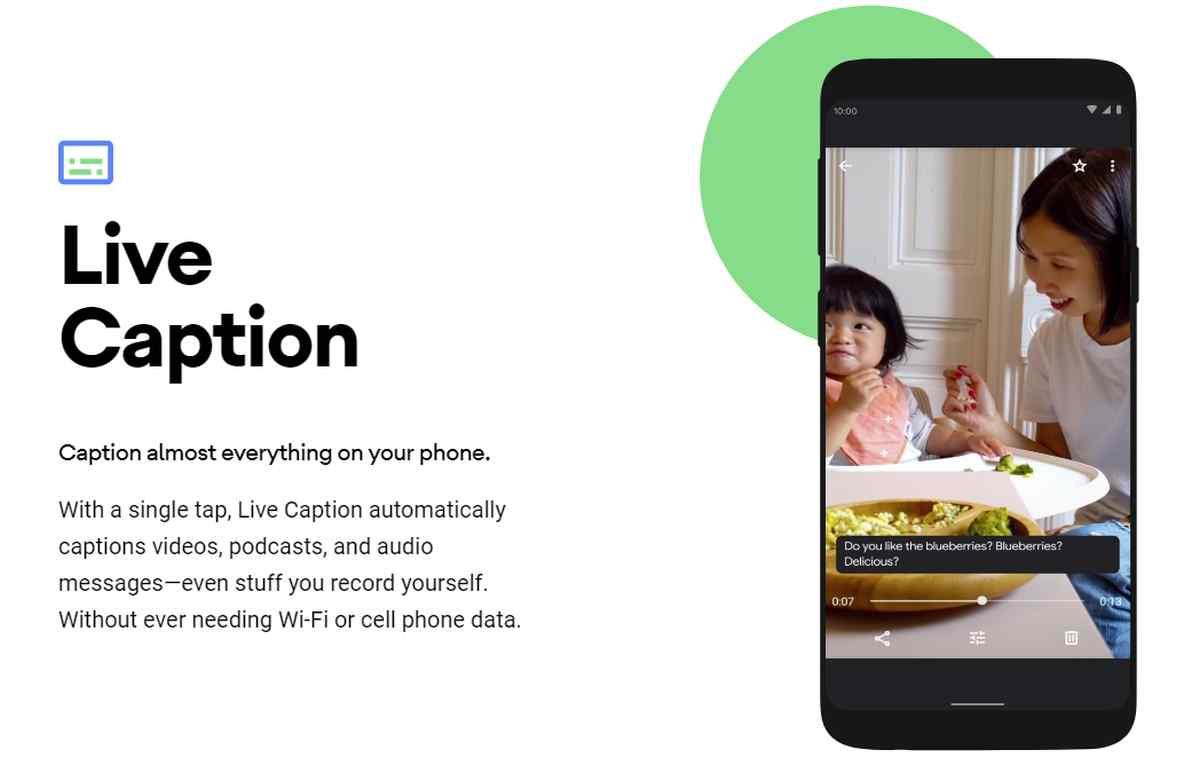 Live Caption se inicia oficialmente en los nuevos Pixel 4 para subtitular contenidos en reproducción