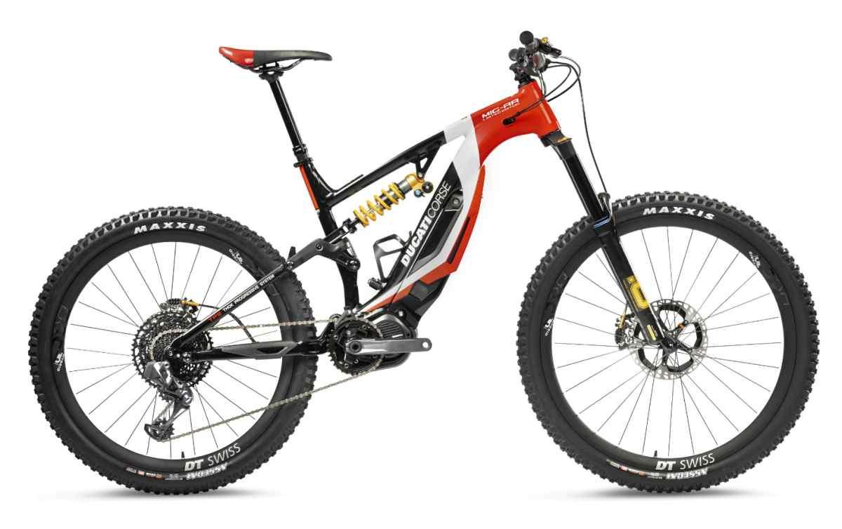 Estas son las nuevas bicicletas eléctricas de Ducati para el próximo año