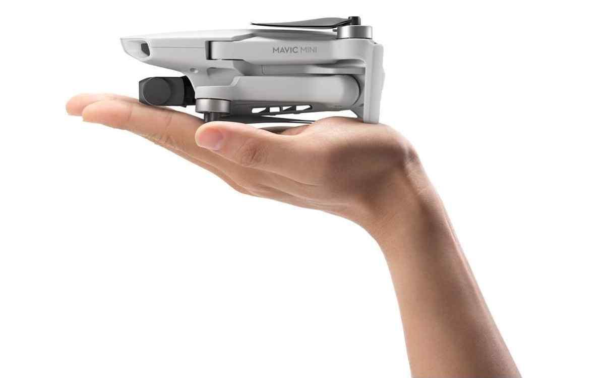 Este será el dron más ligero de DJI que además no necesitará ser registrado ante organismos oficiales