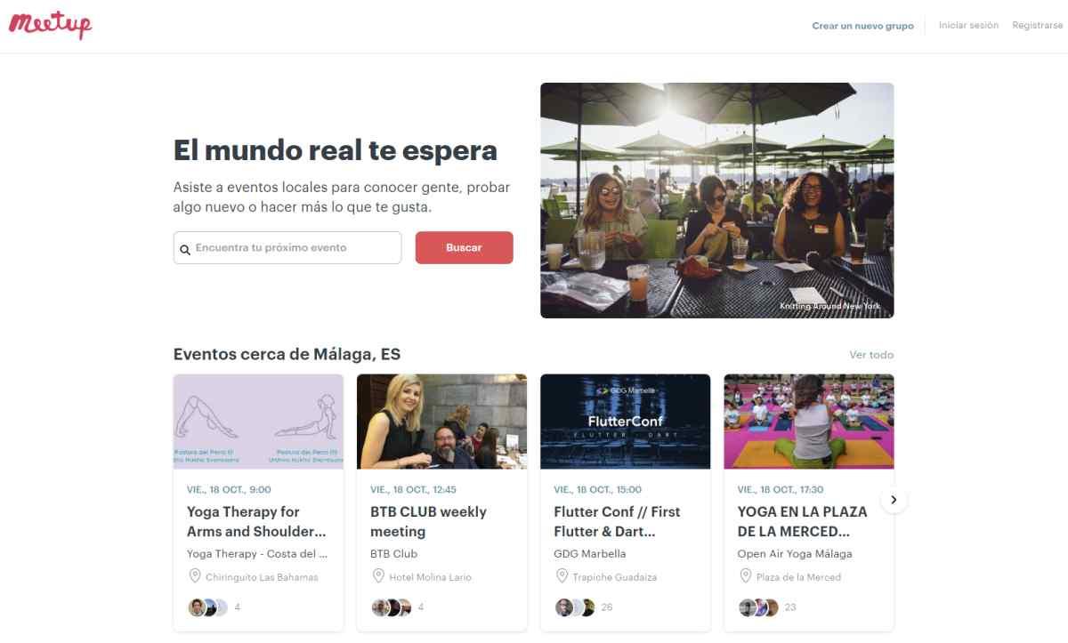 Meetup sale al paso del enfado colectivo por probar el cobro por confirmación de asistencias a invitados