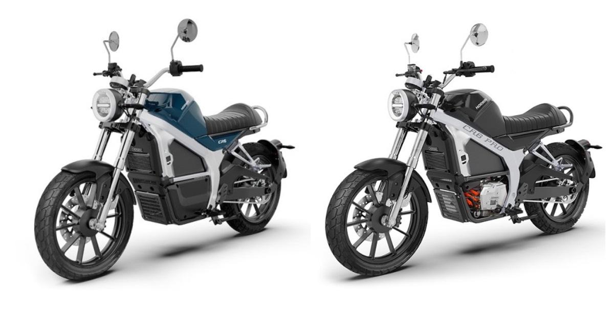 Horwin destaca con el lanzamiento de sus motocicletas eléctricas CR6 y CR6 PRO