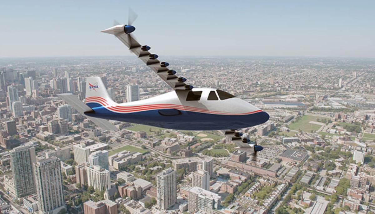 NASA planea lanzar avión X experimental con tripulación y propulsado totalmente por electricidad