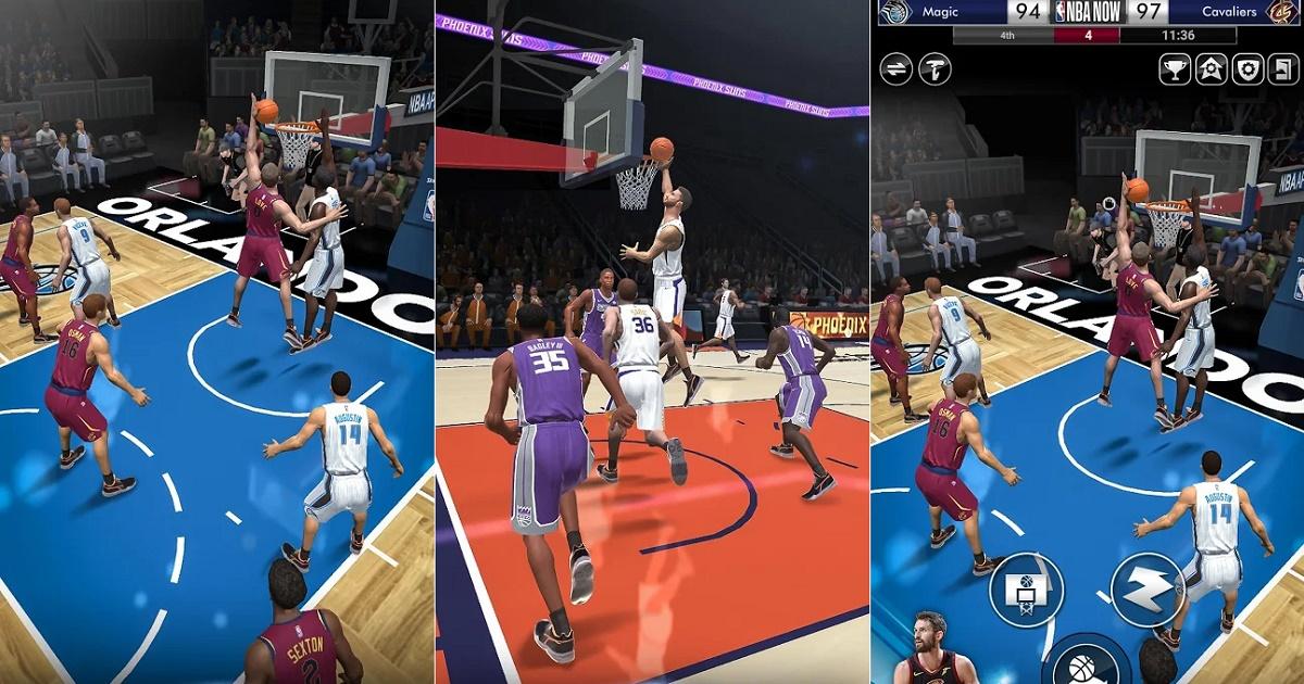 NBA Now, el nuevo juego de básquetbol profesional gratuito y con licencia oficial para Android
