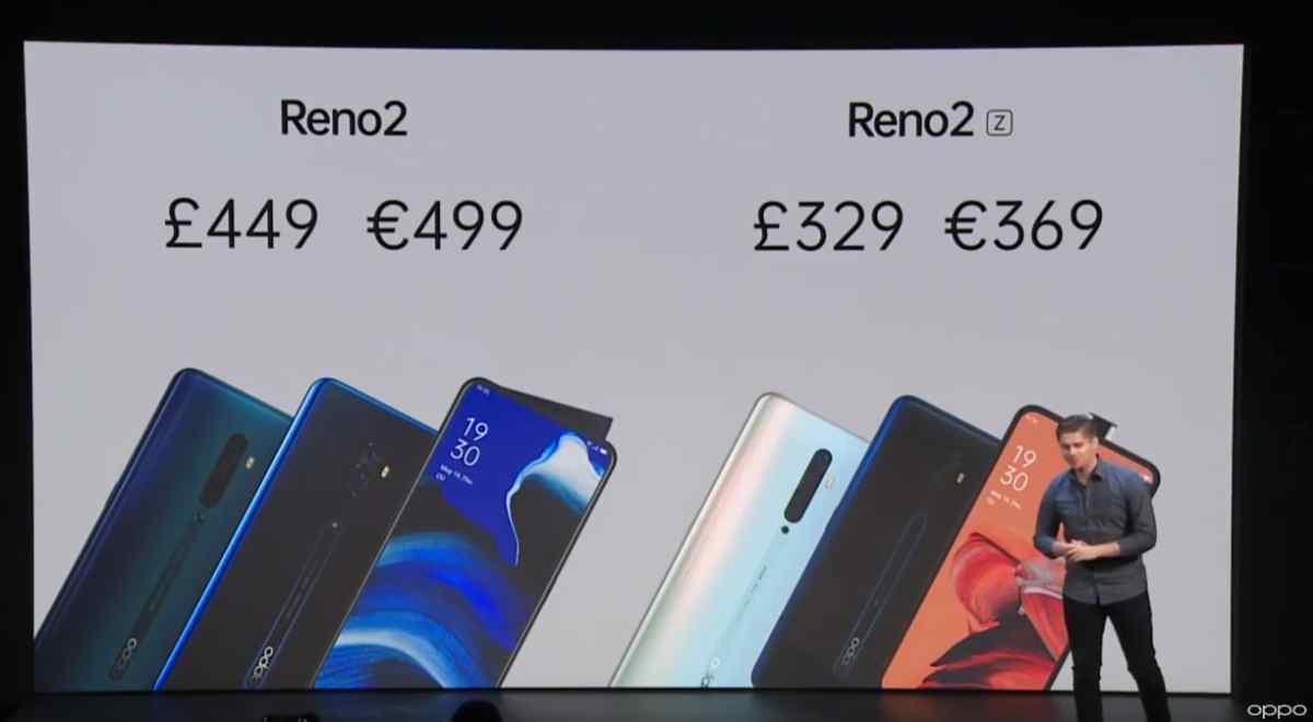 Así son los nuevos Oppo Reno 2 y Reno 2 Z con los que Oppo aumentará su presencia en Europa