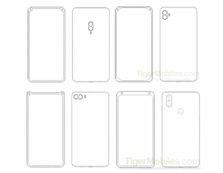 Xiaomi patenta diseños de teléfonos con dos cámaras frontales en las esquinas