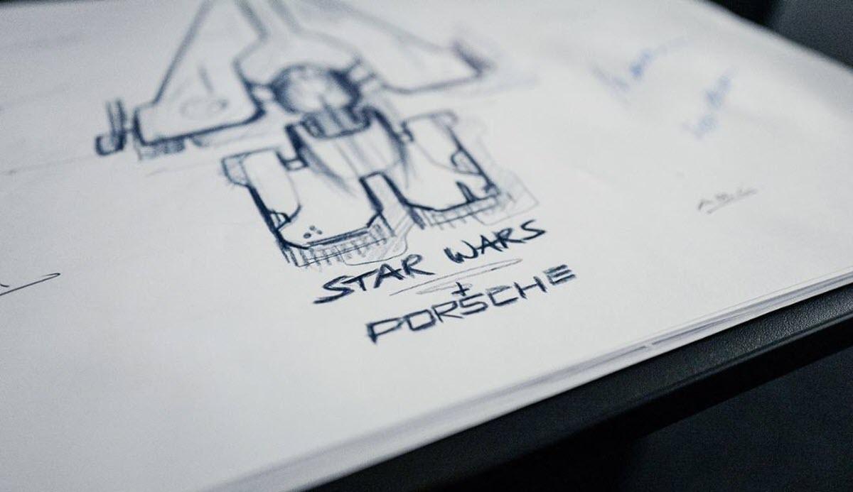 Porsche diseña una nave espacial al estilo Star Wars