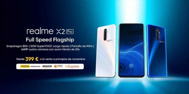 Realme llega a Europa con teléfonos de gama media con altas prestaciones a precios muy ajustados