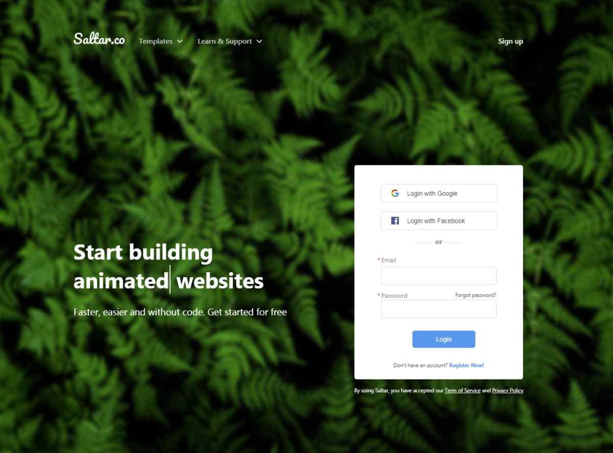 Saltar, nueva opción para crear sitios web en minutos sin necesidad de programación
