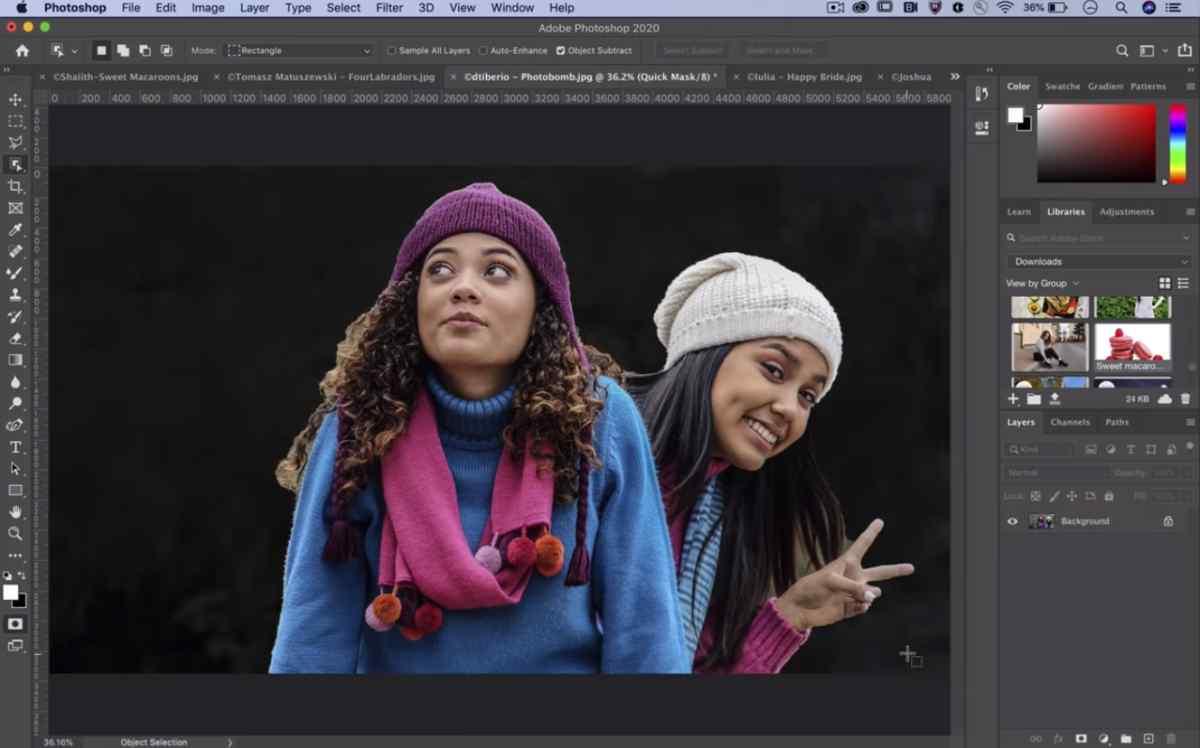 Adobe hará que la selección de motivos complejos sea ridículamente sencilla en Photoshop con la IA