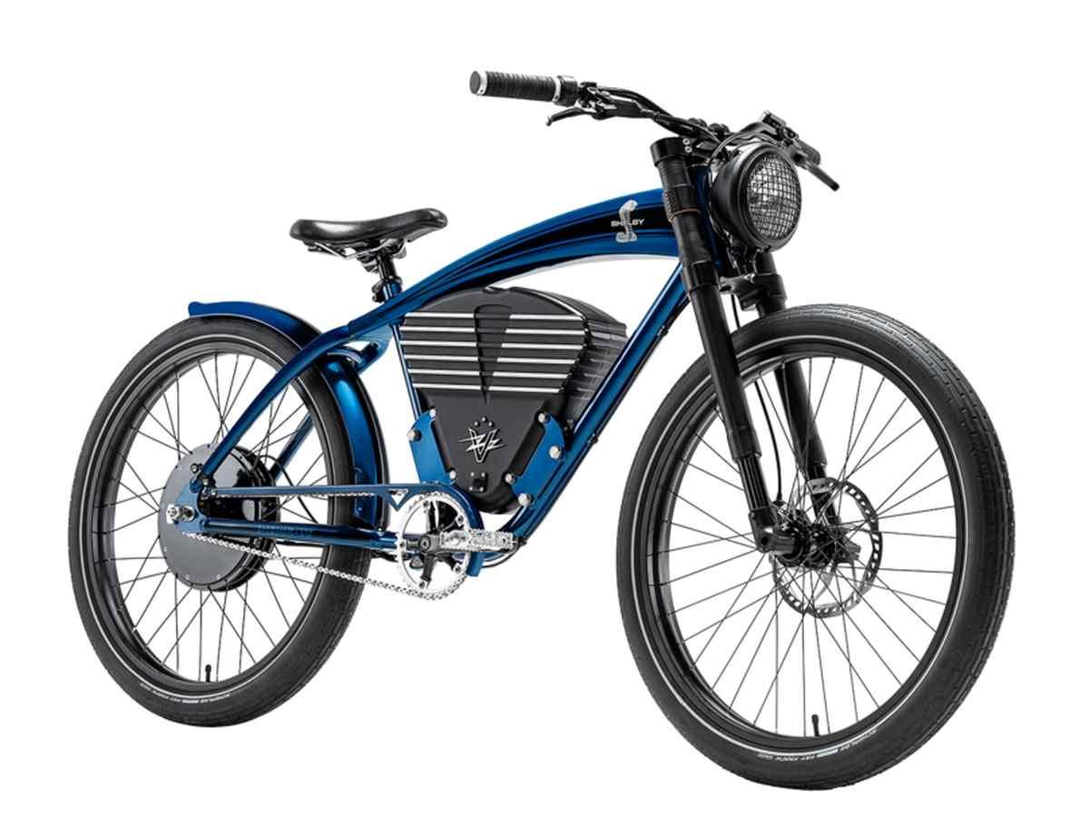 Ponen a la venta bicicleta eléctrica retro inspirada en los clásicos coches americanos de los años 60