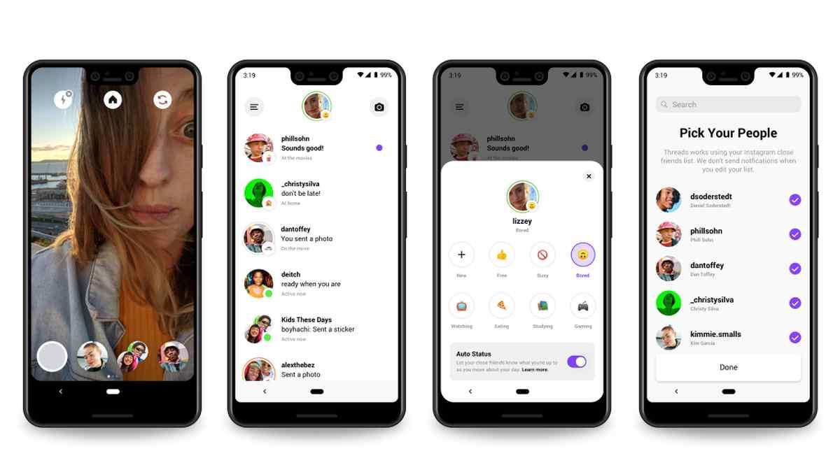Instagram presenta Threads, su nueva aplicación de mensajería para conversar con amigos cercanos