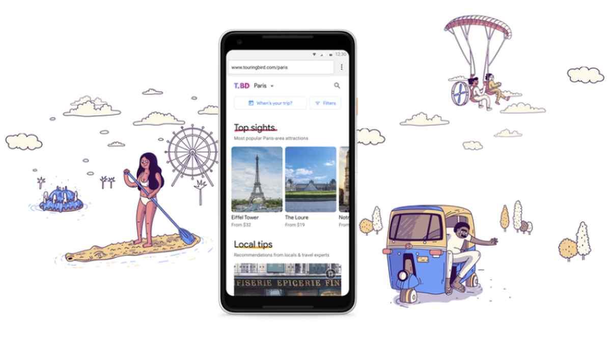 Google cerrará Touring Bird para integrar sus capacidades en su buscador de viajes