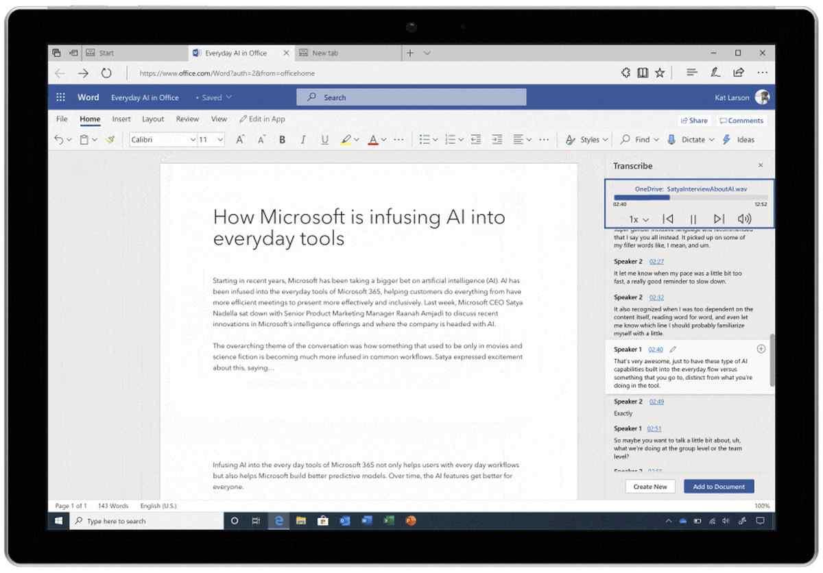 Office 365 gana nuevas capacidades para los que trabajan fuera de los equipos de escritorio