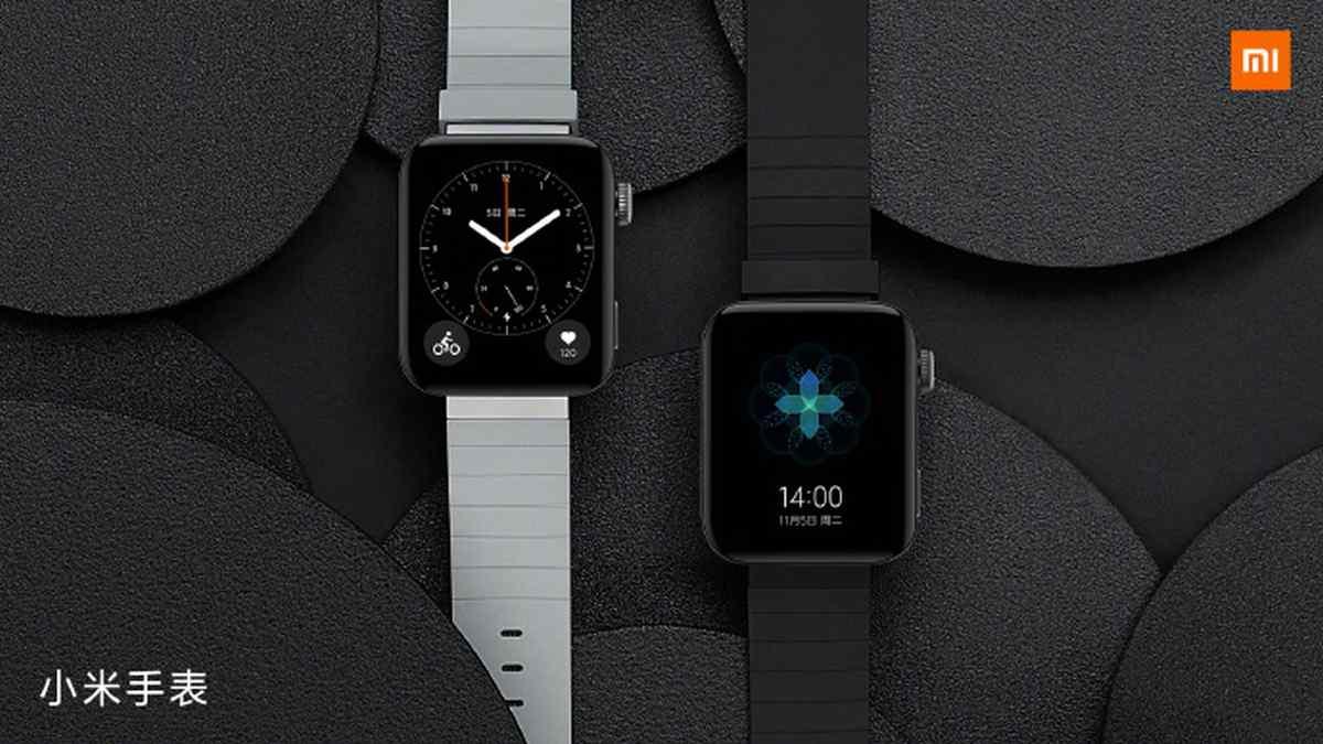 Las primeras imágenes oficiales del Xiaomi Mi Watch dejan ver su gran parecido a los Apple Watch