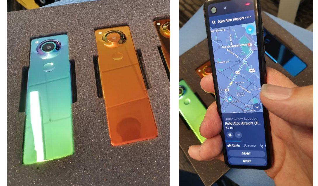 Andy Rubin, cofundador de Android, muestra este móvil totalmente extraño junto a varias características