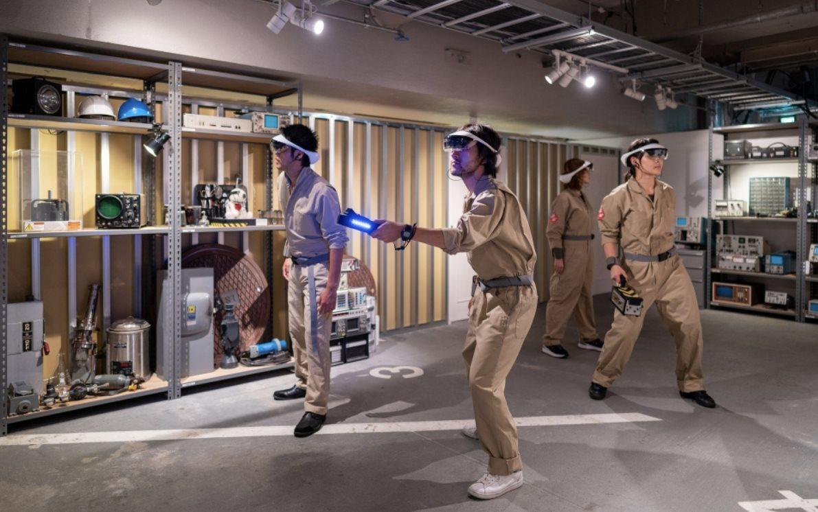 Sony presenta experiencia de Realidad Aumentada de Cazafantasmas en Japón