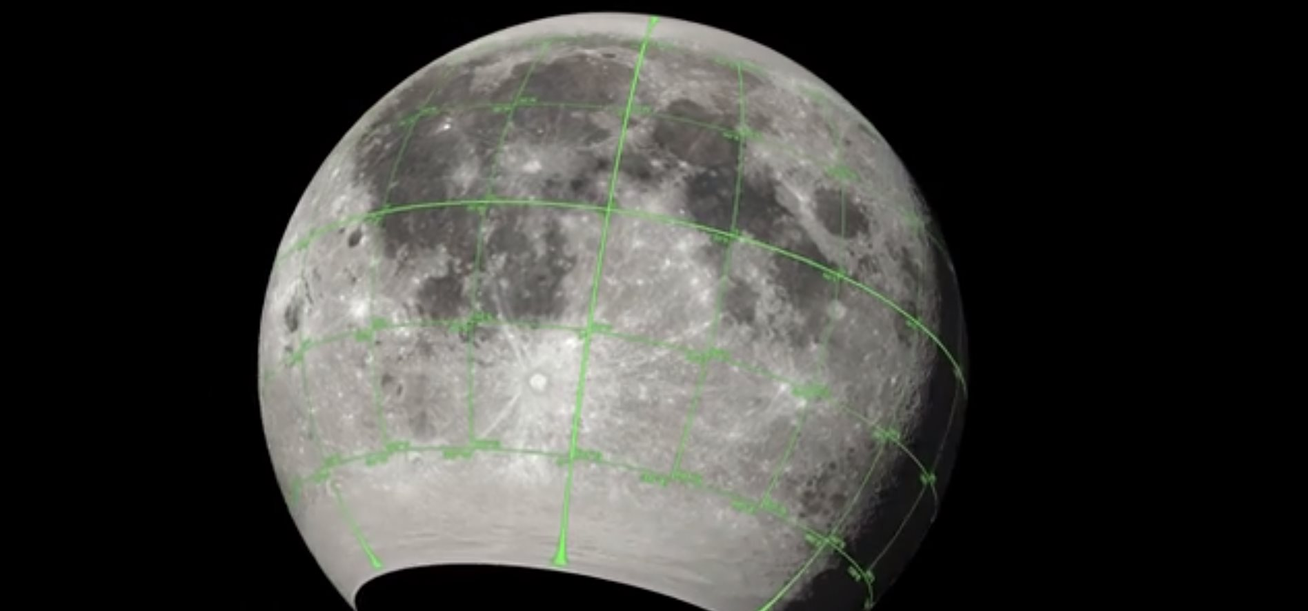 NASA comparte modelos 3D de la Luna para creadores de juegos