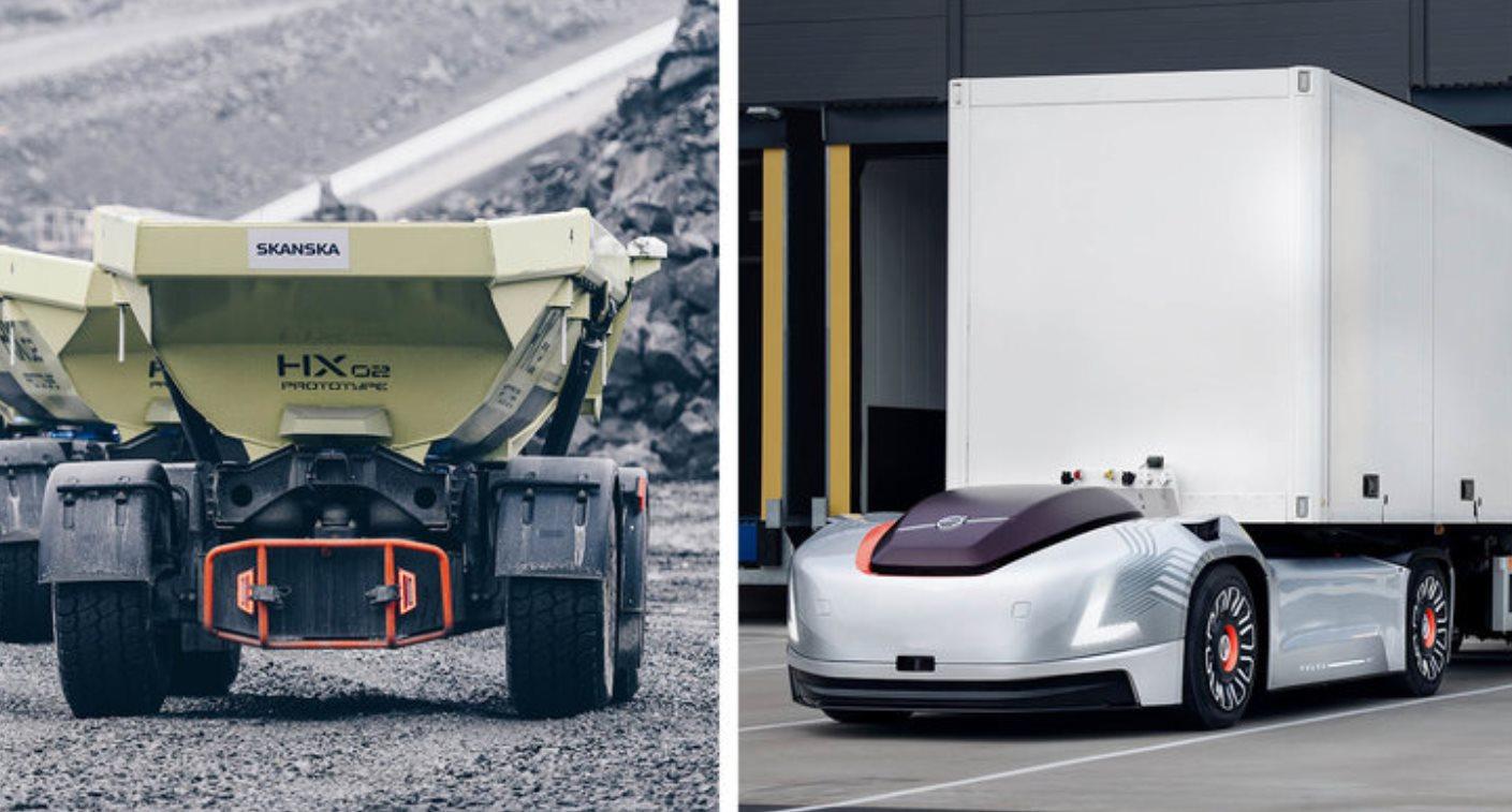 Volvo presenta nuevo sector dedicado al transporte autónomo