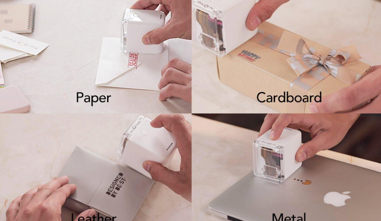 Una impresora que cabe en la palma de la mano