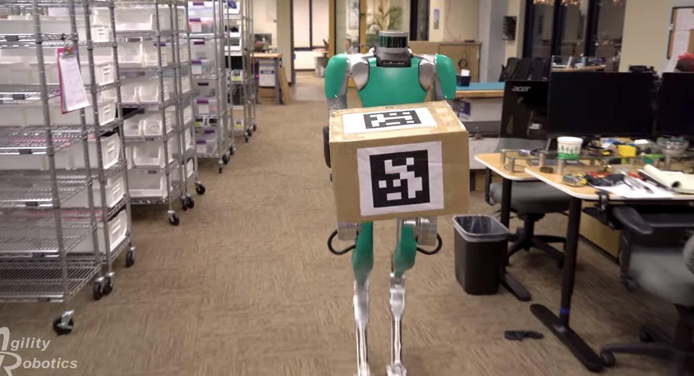 Agility Robotics presenta un robot bípedo con más equilibrio y autonomía