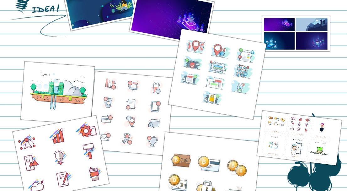 Dos nuevos recursos para bajar ilustraciones gratis