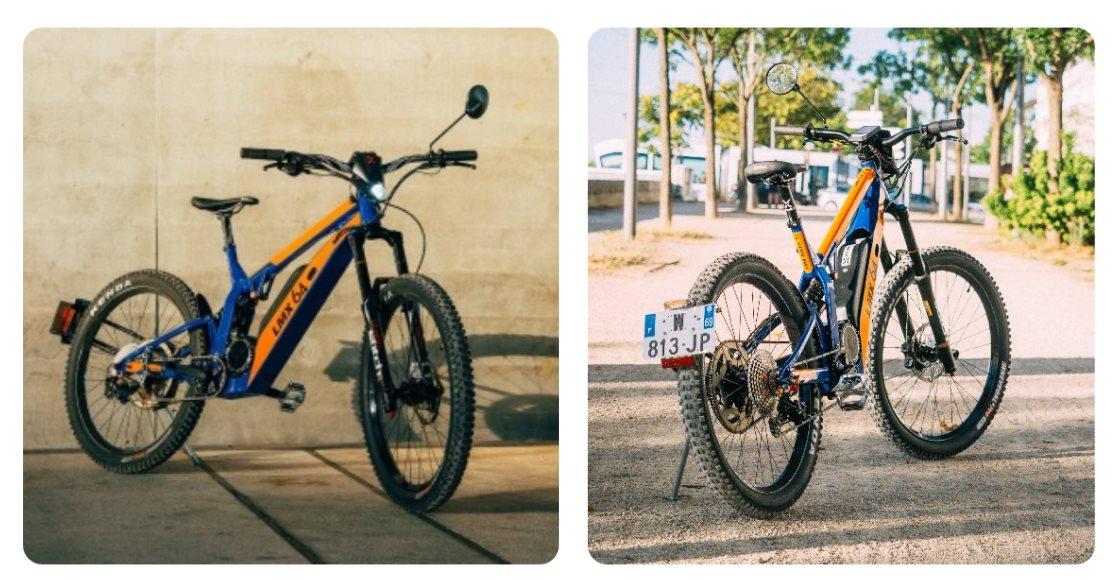 Una bici que se transforma en moto dependiendo de las restricciones legales