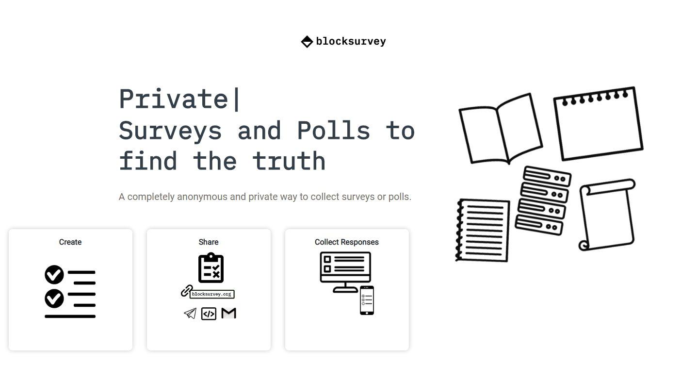 blocksurvey, para crear encuestas personalizadas, privadas y anónimas