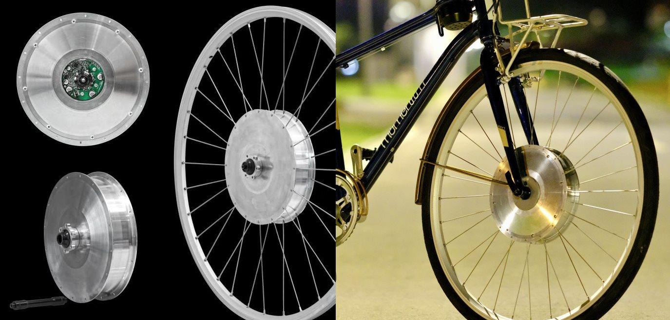 La rueda eléctrica que promete ayudarnos al pedalear