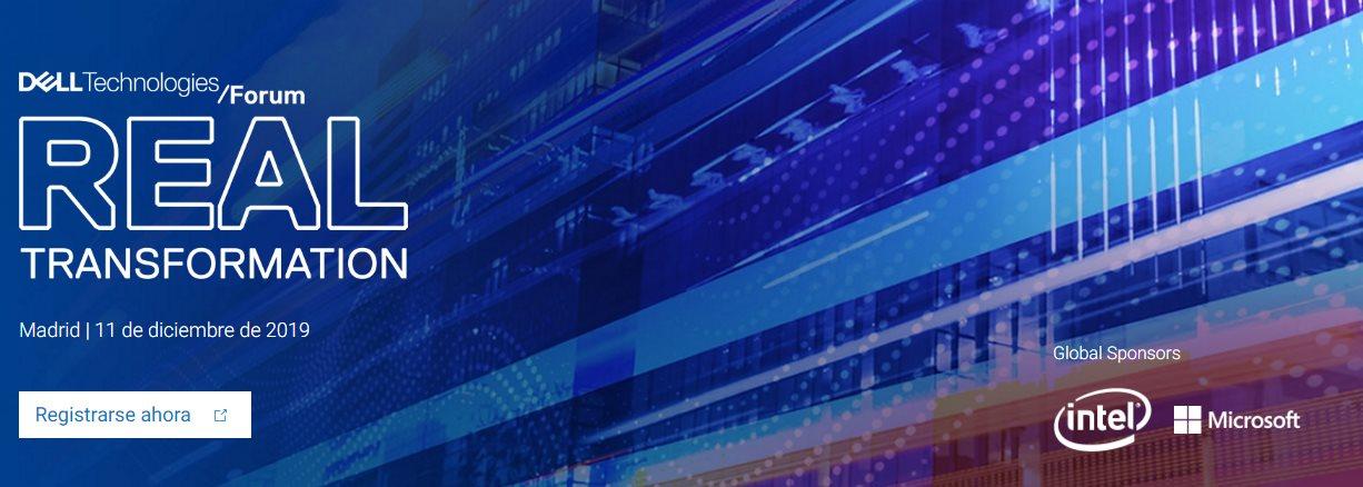 Evento: Dell Technologies Forum, para profesionales y expertos del sector TIC