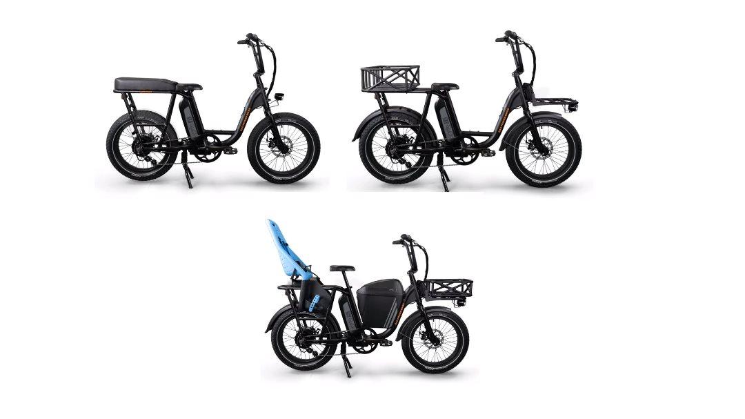 RadRunner, la bicicleta eléctrica con 330 combinaciones de accesorios disponibles