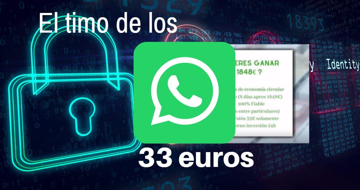 timo whatsapp 33 euros