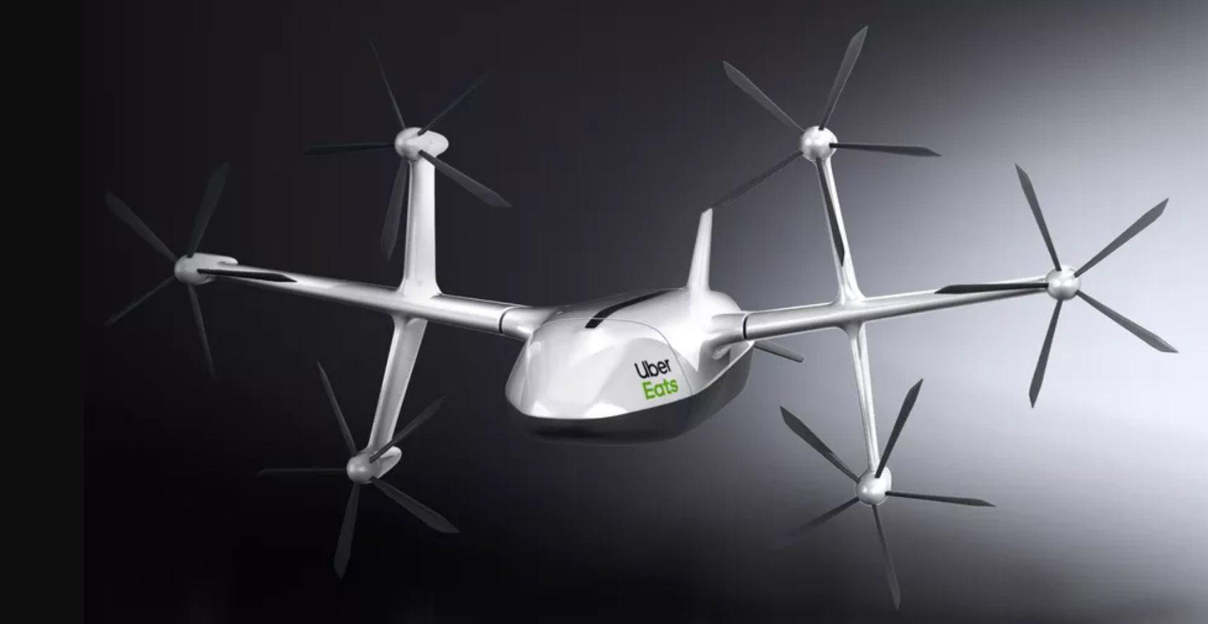 Con este drone Uber repartirá comida en las casas