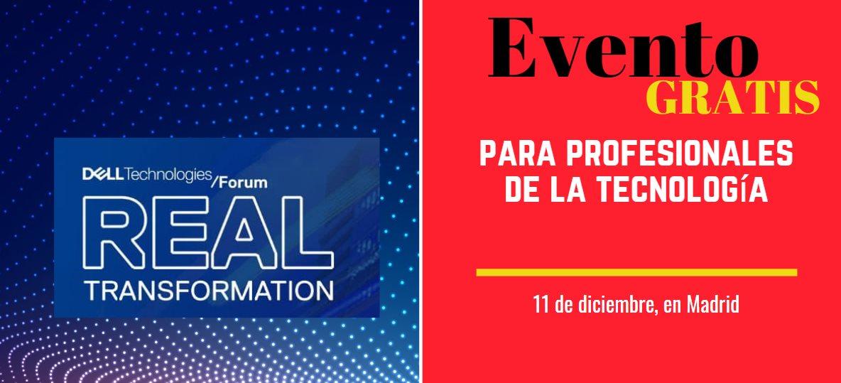 Si trabajas con Tecnología, no faltes el 11 de diciembre en Madrid a este evento