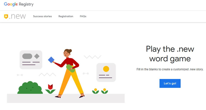 """Google permitirá registrar un dominio .new para crear atajos al estilo """"docs.new"""""""