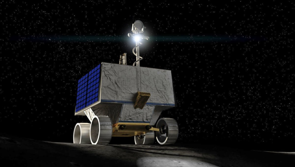 NASA enviará Rover a la Luna para encontrar agua congelada