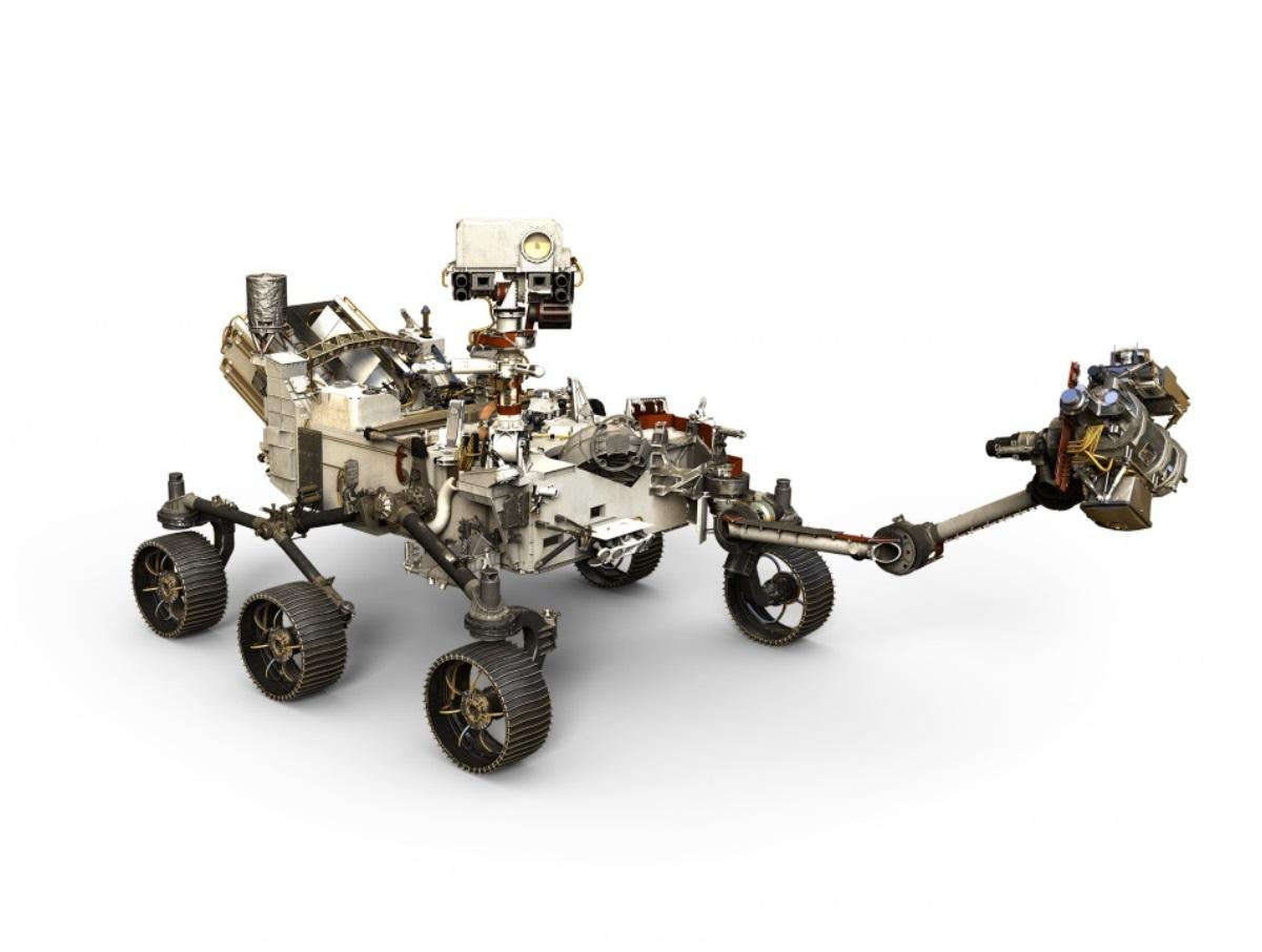 NASA celebra la puesta en pie de su Rover Mars 2020