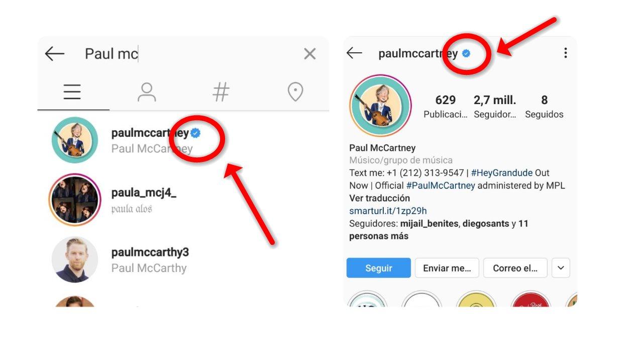 Cómo optar por la verificación de un perfil en Instagram