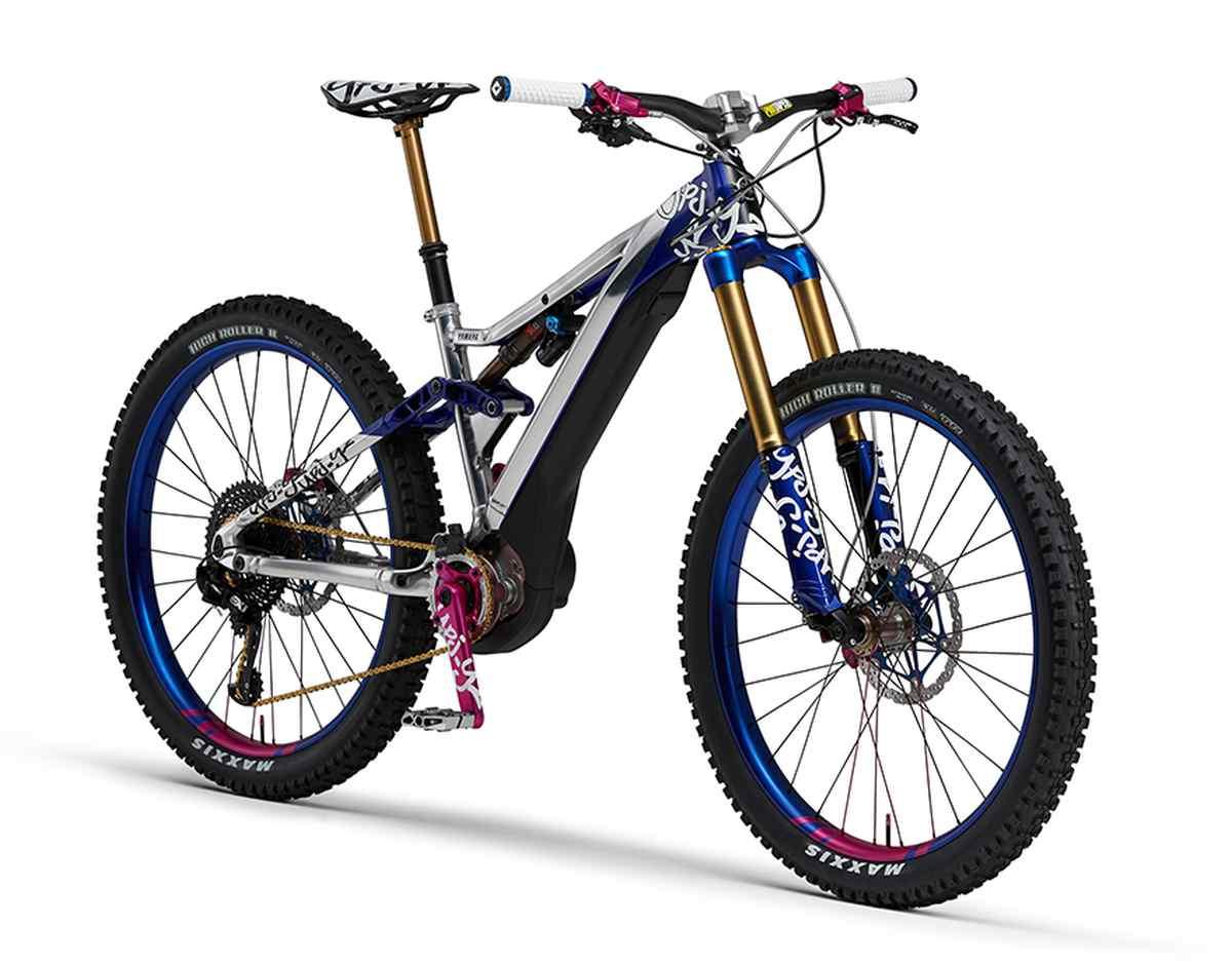 Yamaha ofrece un adelanto de la que será su nueva bicicleta eléctrica de montaña